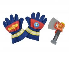 Sam Fireman Gloves and Axe
