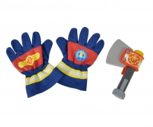 Sam Fireman Gloves and Axe