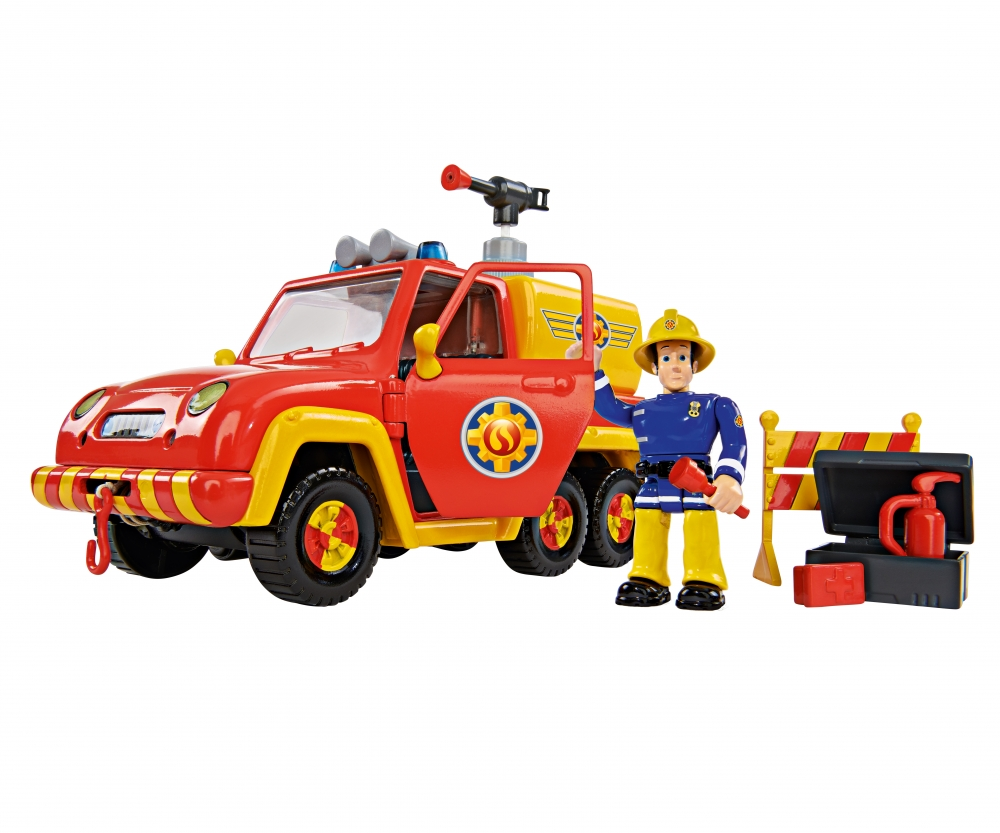 sam fire engine venus incl figurine fireman sam. Black Bedroom Furniture Sets. Home Design Ideas