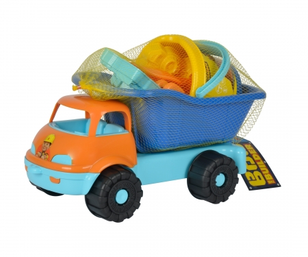 Bob Dumper Truck filled