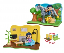 Wissper 2-in-1 Play Set Grass World