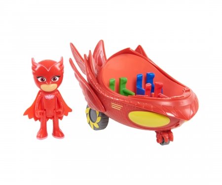 PJ Masks Owlette with Vehicle