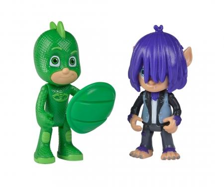PJ Masks Figurine Set Gecko+Kevin