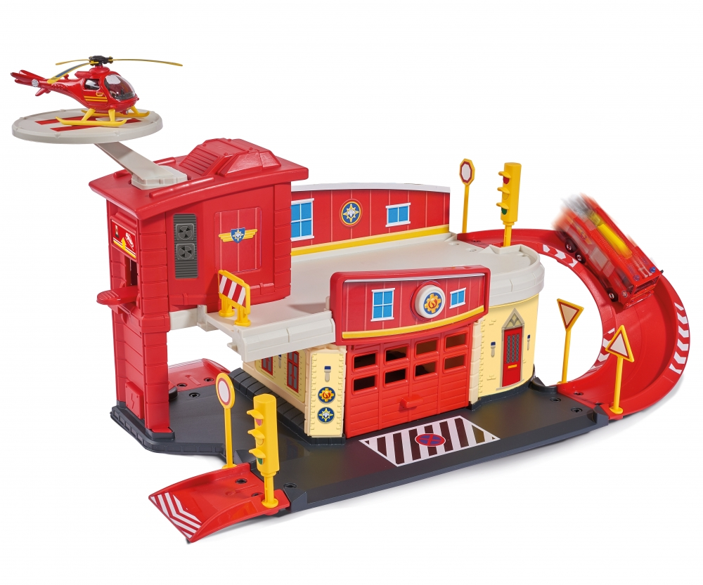 fireman sam fire rescue centre brands shop dickietoys de