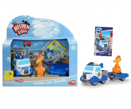 Heroes of the City - Playset 2 - Helpers on the Road