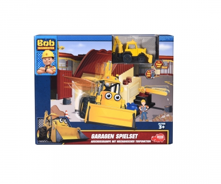 Bob the Builder Garage Playset Scoop and Bob