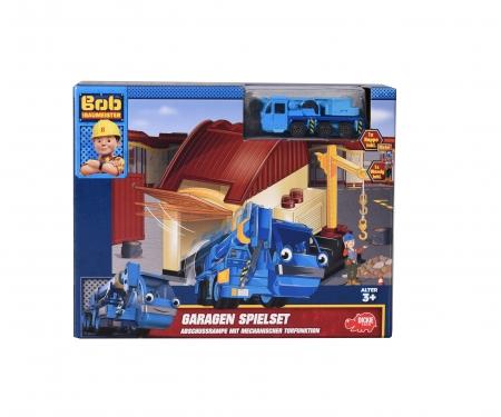 Bob the Builder Garage Playset Heppo and Wendy