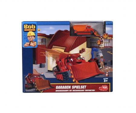 Bob the Builder Garage Playset Muck and Leo