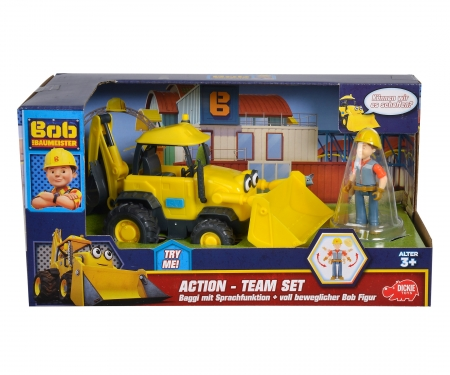 Bob der Baumeister Action-Team Baggi + Bob