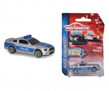 Majorette SOS Flasher Ford Mustang Police