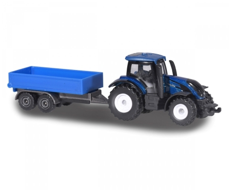 Majorette Farm Small Set Valtra T4 with Trailer