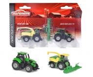 Majorette Farm Medium Set Krone Big X & Deutz