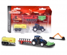 Majorette Farm Medium Set Valtra T4 plus accessories
