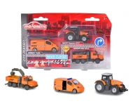 Majorette City Medium Set Street Service
