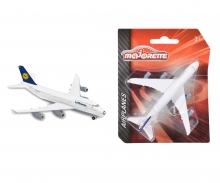 Majorette Airplanes Boeing 747 Lufthansa