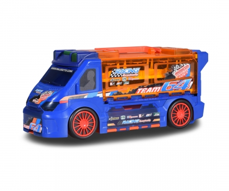 Race 'n Carry Van + 4 Cars