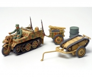 1:48 WWII Ger. Kettenkrad m. Goliath