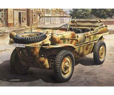 1:48 WWII Dt.Schwimmwagen Typ166 Pkw.K2