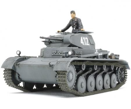 1:48 WWII Ger.Tank II Ausf.A/B/C F.C.