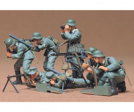 1:35 WWII Fig.-Set Dt. MG Truppen (7)