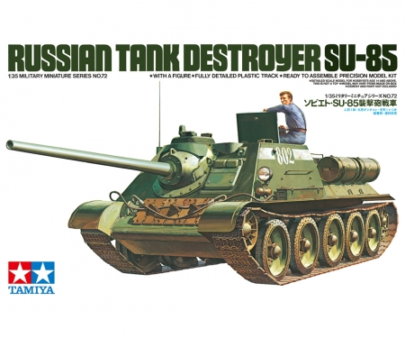 1:35 Sov. Tank Destroyer SU-85 (1)