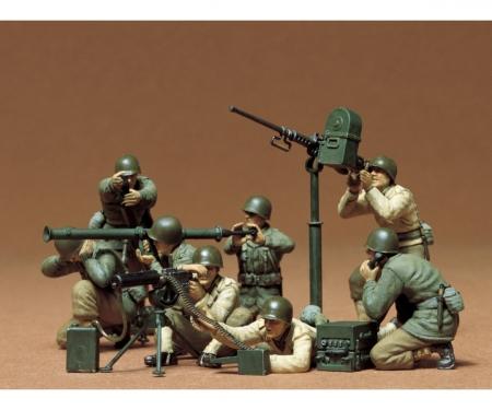 1:35 WWII Fig.-Set US MG/Mörser Trupp(8)
