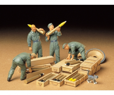 1:35 WWII Fig.-Set Tank Ammo Load.Cr.(4)