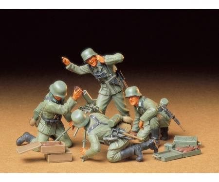 1:35 WWII Fig.-Set Dt. Mörser-Trupp (4)