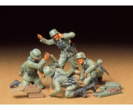 1:35 WWII Fig.-Set Dt. Mörser-Trupp (4)