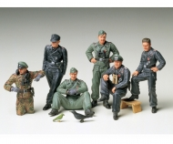 1:35 WWII Fig-Set Ger.Tank Crew Rest(6)