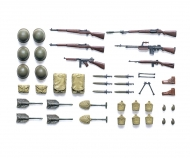 1:35 Diorama-Set WWII US Infant. Waffen