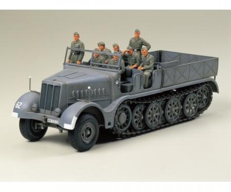 1:35 WWII SdKfz.9 Famo 18to Halbkette(8)