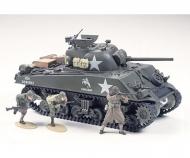 1:35 WWII US Sherman M4A3 75mm Spä.(9)