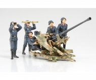 1:35 WWII Dt.3,7cm Flak37 m. Trupp (5)