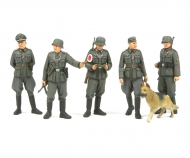 1:35 WWII Fig.-Set Dt. Feldpolizei