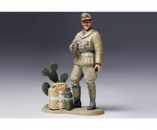 1:16 WWII Figur Dt. Panzersoldat Afrika