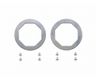 F104 Disc Ball Set Steel (8) Balldiff.