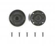 TA06 Rear Gear Differential Case Set 52T