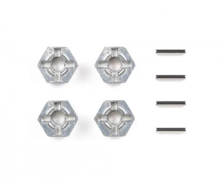 Alum. Pin Type Wheel Adapter Set (4)