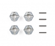 Alum. Pin Type Wheel Adapter Set (4)