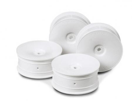 1:10 Dish-Felgen weiss 24mm (4)