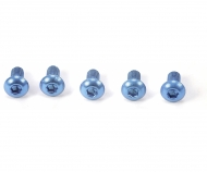 3x6mm Sockelschraube (blau)