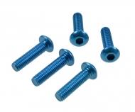 3x12mm Sockelschraube(blau)