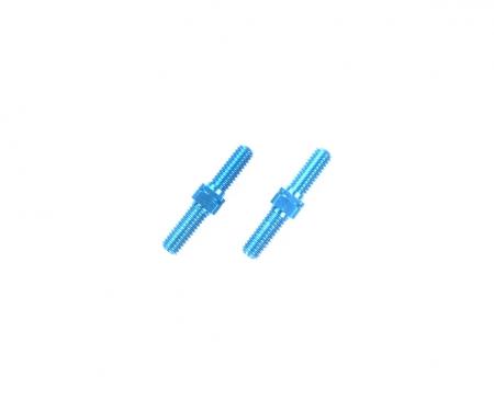 3x18mm Alum. Turnbuckle Shaft (2) blue