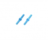 3x18mm Alum. Turnbuckle Shaft (2) blue