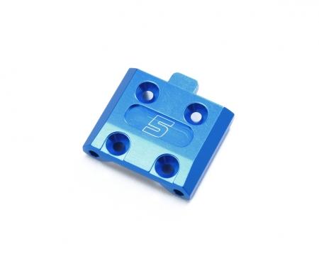 M-07C Alu Querlenkerhalter vo./5° blau