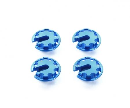 Alum. Damper Retainer +1mm(4) Blue anod