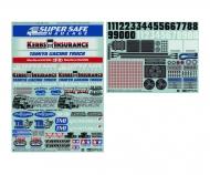 Marking Sticker (Racing Truck)