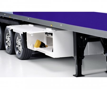 1:14 RC 3-Axle-ReeferSemi Trailer Kit