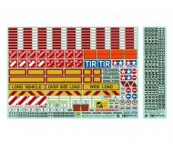 1:14 Warning-Sticker Set Tractor/Trailer